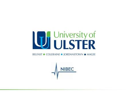 Capability study: Mobile Health at NIBEC Philip Catherwood (B.Eng.(Hons), MSc, PGCFHE).