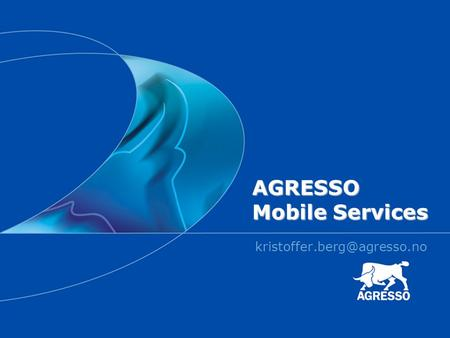 AGRESSO Mobile Services