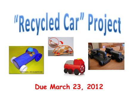 """Recycled Car"" Project"