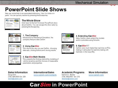 PowerPoint Slide Shows