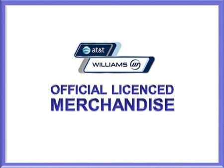 OFFICIAL LICENCED MERCHANDISE.
