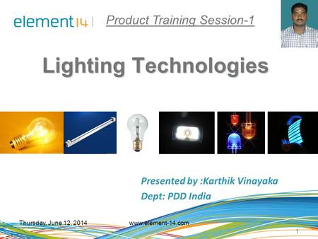 Product Training Session-1