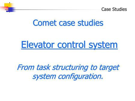 case study on elevator 6 days ago  have you ever been trapped in an elevator an unwanted experience but it  happens sometimes in that case we usually call a service.
