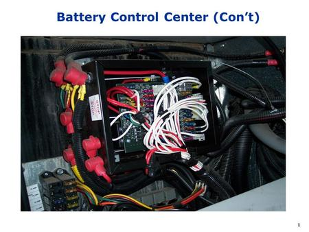 1 Battery Control Center (Cont). 2 MAXI F1 25A F2 25A F4 3A F3 20A F5 3A F6 3A F7 15A F8 15A F9 20A F10 15A F11 10A F12 15A F13 15A Driver Pwr Seat Pass.