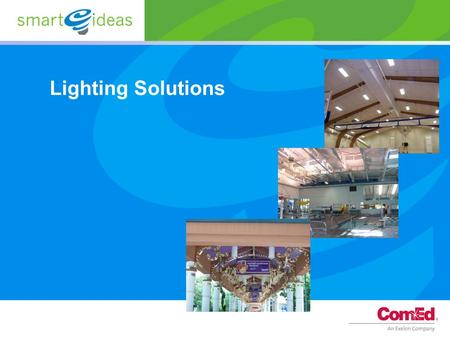 Lighting Solutions.