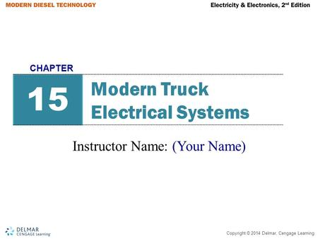 Modern Truck Electrical Systems