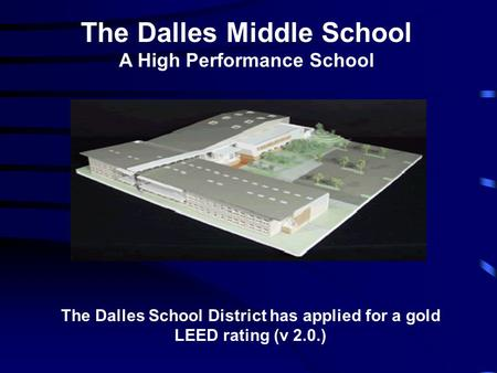 The Dalles Middle School