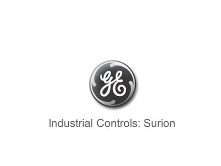 Industrial Controls: Surion