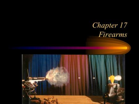 Chapter 17 Firearms.
