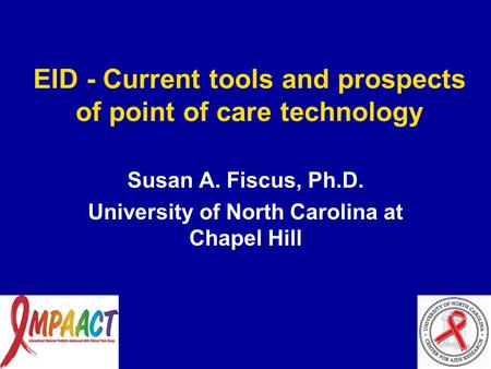 EID - Current tools and prospects of point of care technology