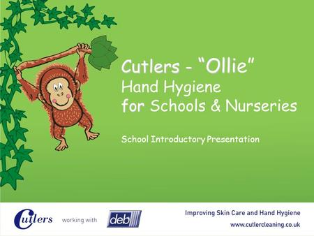Agenda The importance of hand hygiene in schools & nurseries