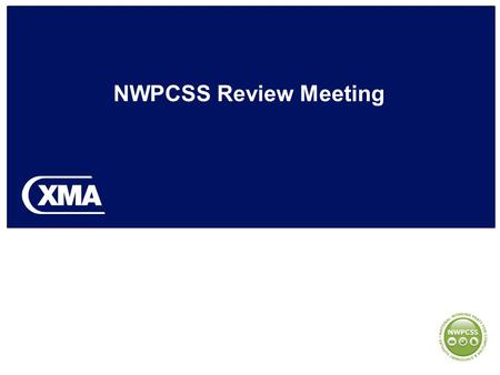 NWPCSS Review Meeting. Attendees Jon CrabtreeGroup Managing Director Supplies Fergus MathiesonSales & Marketing Director (QC) Alistair KuhnbaumSupplies.