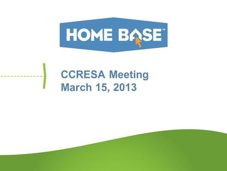 CCRESA Meeting March 15, 2013. Agenda Overview Review Timeline Support Documents Use Cases Next Steps.