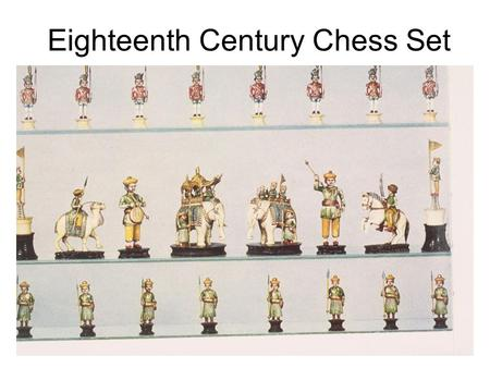 Eighteenth Century Chess Set. 2 nd Century game pieces from Uzbekistan (probably a part of a chess set)