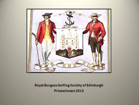 Royal Burgess Golfing Society of Edinburgh