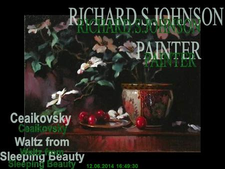 12.06.2014 16:51:08 The luminescent beauty and lyrcal quality of Richard S. Johnson's work is what captivates collectors today. Old Masters technical.