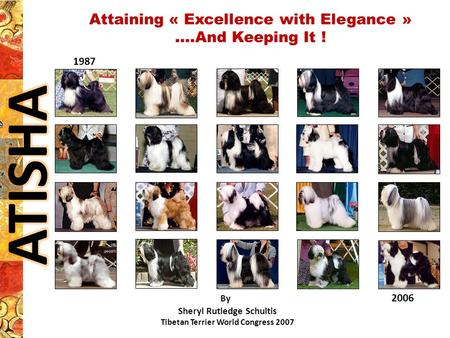 Attaining « Excellence with Elegance » ….And Keeping It !