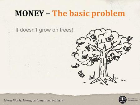 MONEY – The basic problem