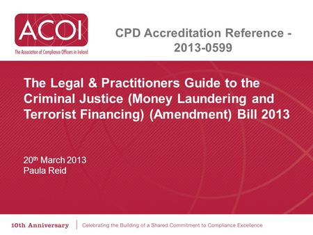 CPD Accreditation Reference