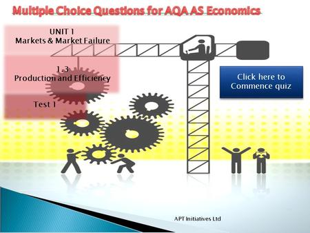 Multiple Choice Questions for AQA AS Economics