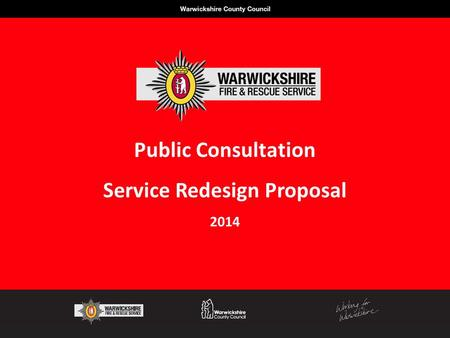Public Consultation Service Redesign Proposal 2014.