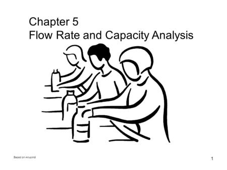 Based on Anupindi 1 Chapter 5 Flow Rate and Capacity Analysis.