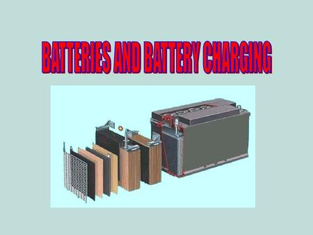 BATTERIES AND BATTERY CHARGING