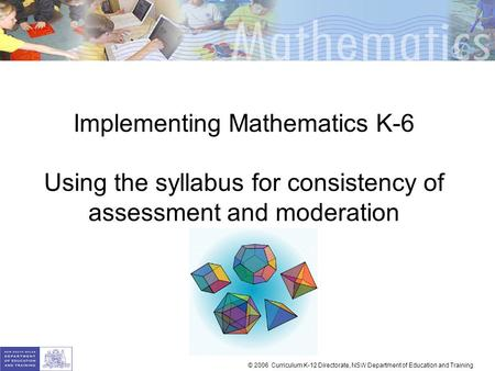 Implementing Mathematics K-6