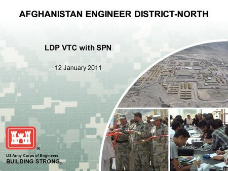 AFGHANISTAN ENGINEER DISTRICT-NORTH