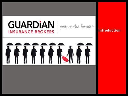 Introduction. 1.Who is Guardian Insurance brokers? 2.Risk Identification and Solutions 3.Professional Industry bodies 4.Financial Capacity to pay claims.
