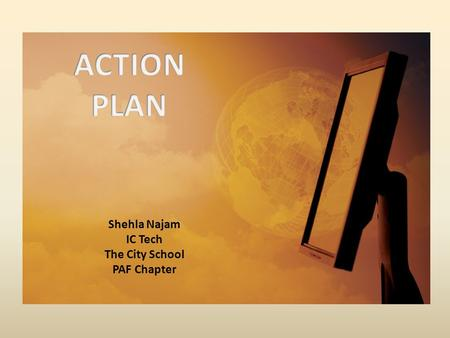 Shehla Najam IC Tech The City School PAF Chapter.