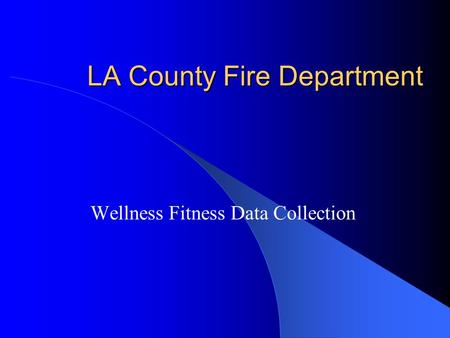 LA County Fire Department