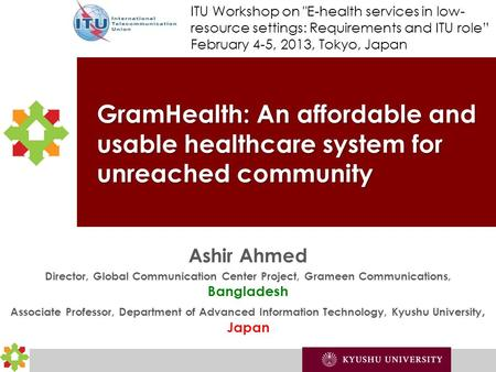 Agenda GramHealth UnReached People