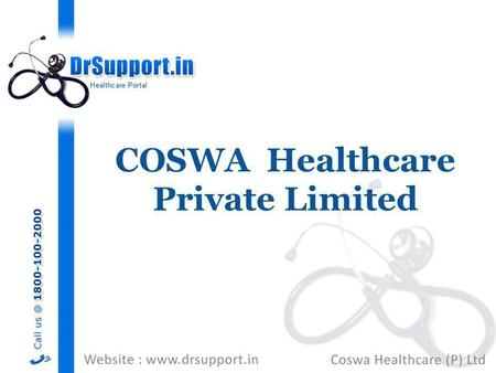 COSWA Healthcare Private Limited.