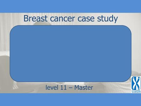 Breast cancer case study