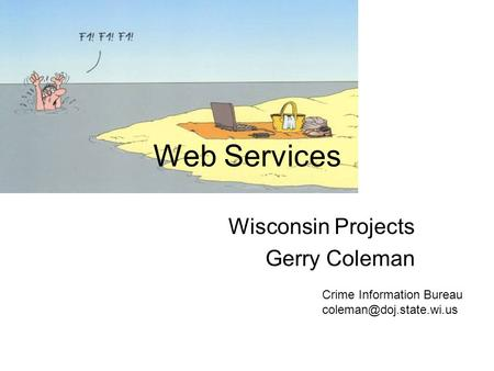 Web Services Wisconsin Projects Gerry Coleman Crime Information Bureau