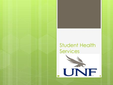 Student Health Services. Mission Student Health Services (SHS) is a department under the Division of Student Affairs. The SHS MISSION is to help students.