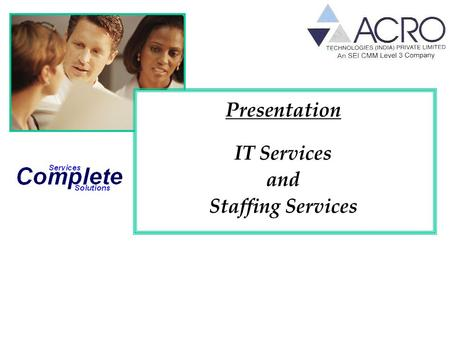 Presentation IT Services and Staffing Services