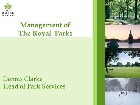 Management of The Royal Parks