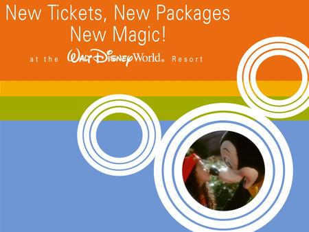 2 Agenda Introduction Resort Benefits New Tickets New Packages Just for You.