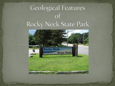 Rocky Neck State Park is located on the shore of Long Island Sound in East Lyme Connecticut Rocky Neck.