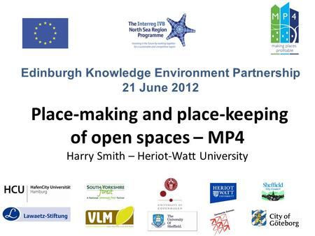 Edinburgh Knowledge Environment Partnership