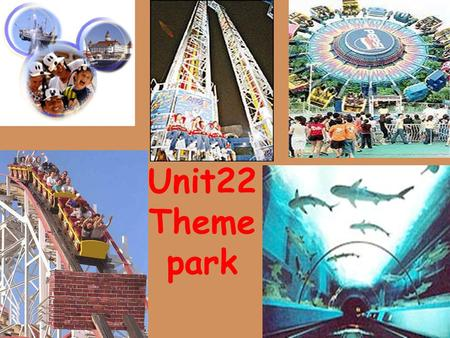 Unit22 Theme park. Bungeeing Pirate ship Roller-coaster rides.