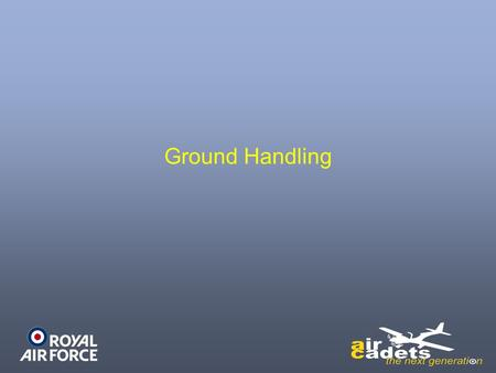 Ground Handling. Recap Aircraft Maintenance Ground Handling.