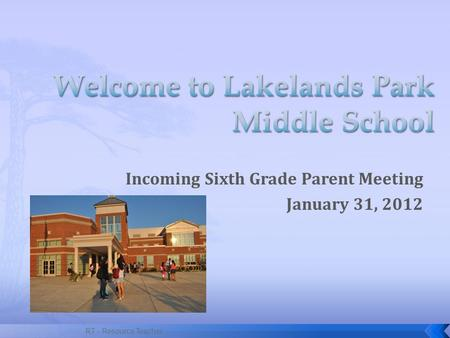 Welcome to Lakelands Park Middle School