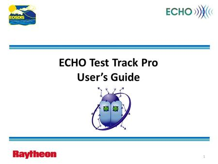 ECHO Test Track Pro User's Guide