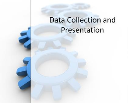 Free PowerPoint Backgrounds Data Collection and Presentation.