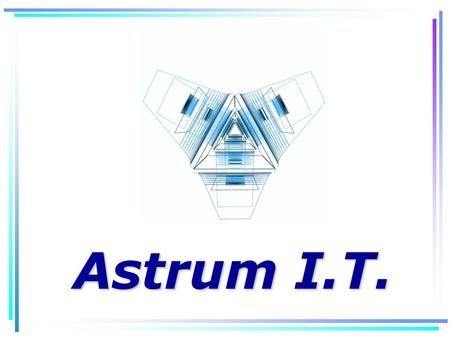 Astrum I.T.. Who is Astrum I.T. We are a software development company specialized in restaurants. Our P.O.S software has been designed to work in a wireless.