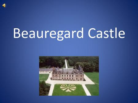 Beauregard Castle. History Built mostly around 1545 Bought by Jean du Thiers Interior wasnt finished when he bought it He included frescoes on the fireplace.
