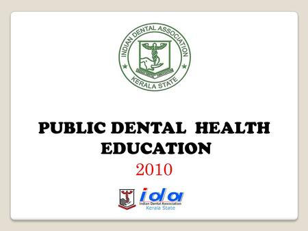 PUBLIC DENTAL HEALTH EDUCATION 2010 TEETH (]Ãv)
